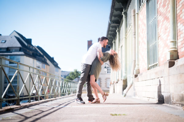 Shooting engagement par Piram Photography à Rennes